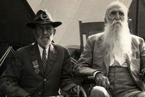 Veterans in attendance at the 75th anniversary of the battle of Gettysburg in 1938. source: http://photos1.blogger.com/img/258/6410/640/1938gettysburg.jpg